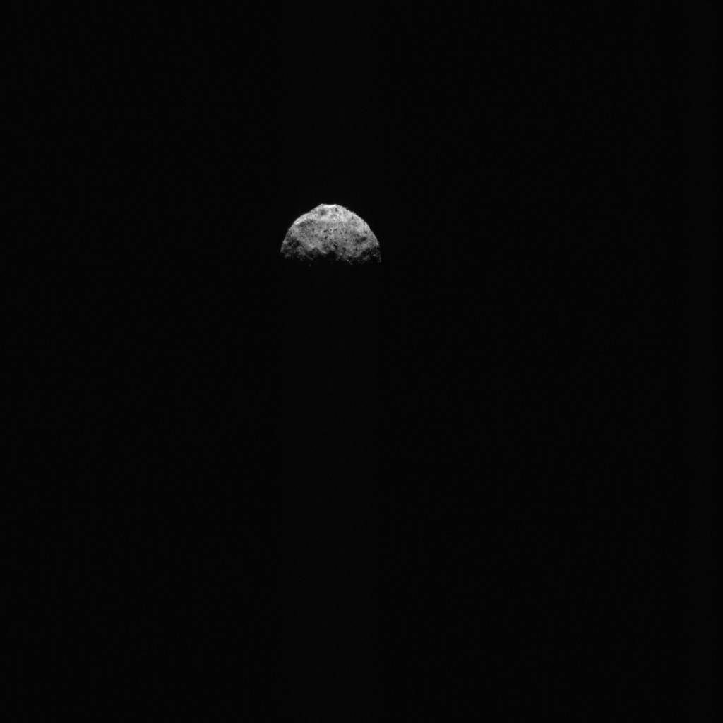 A crescent Bennu