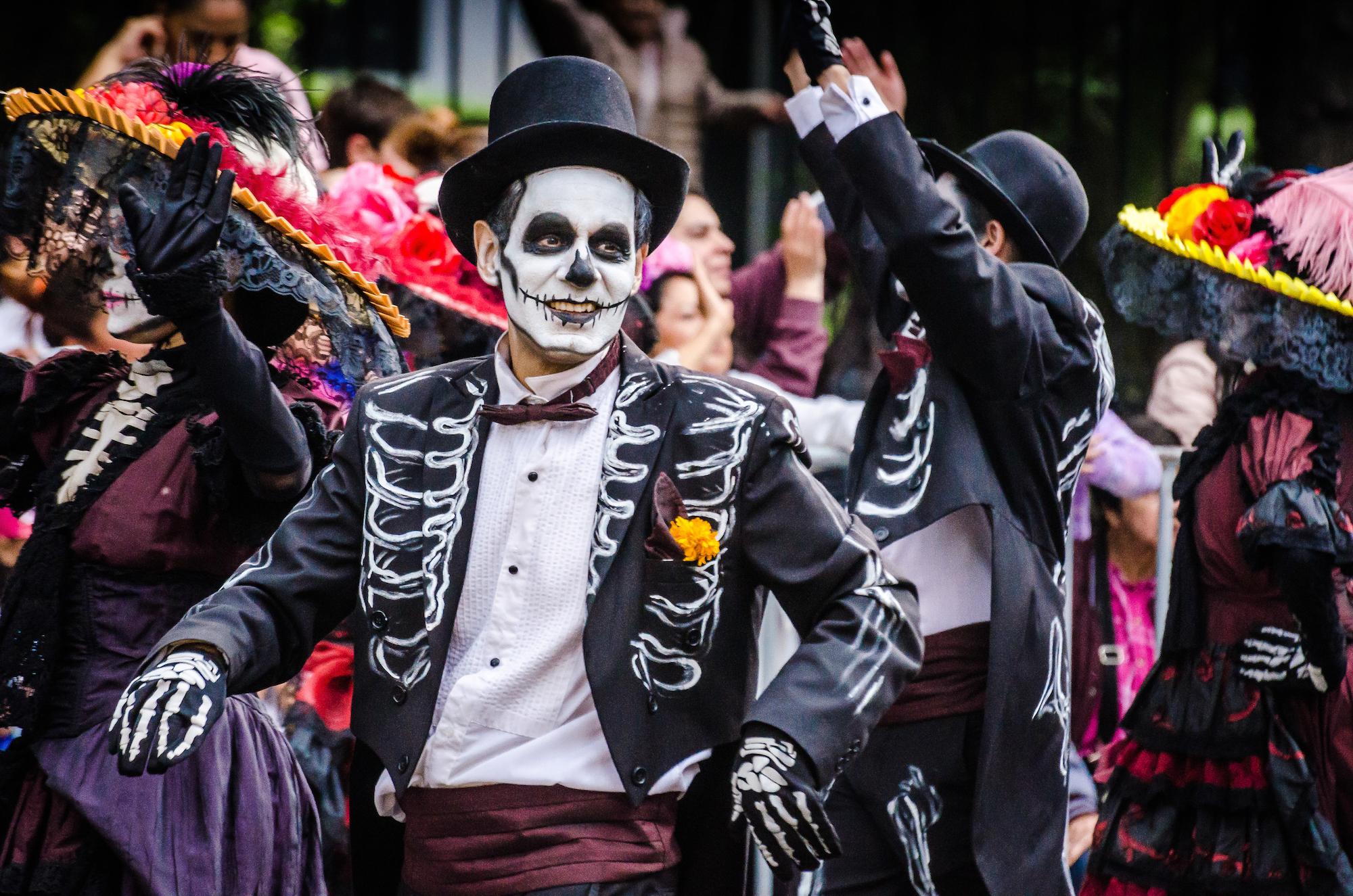 people at a parade