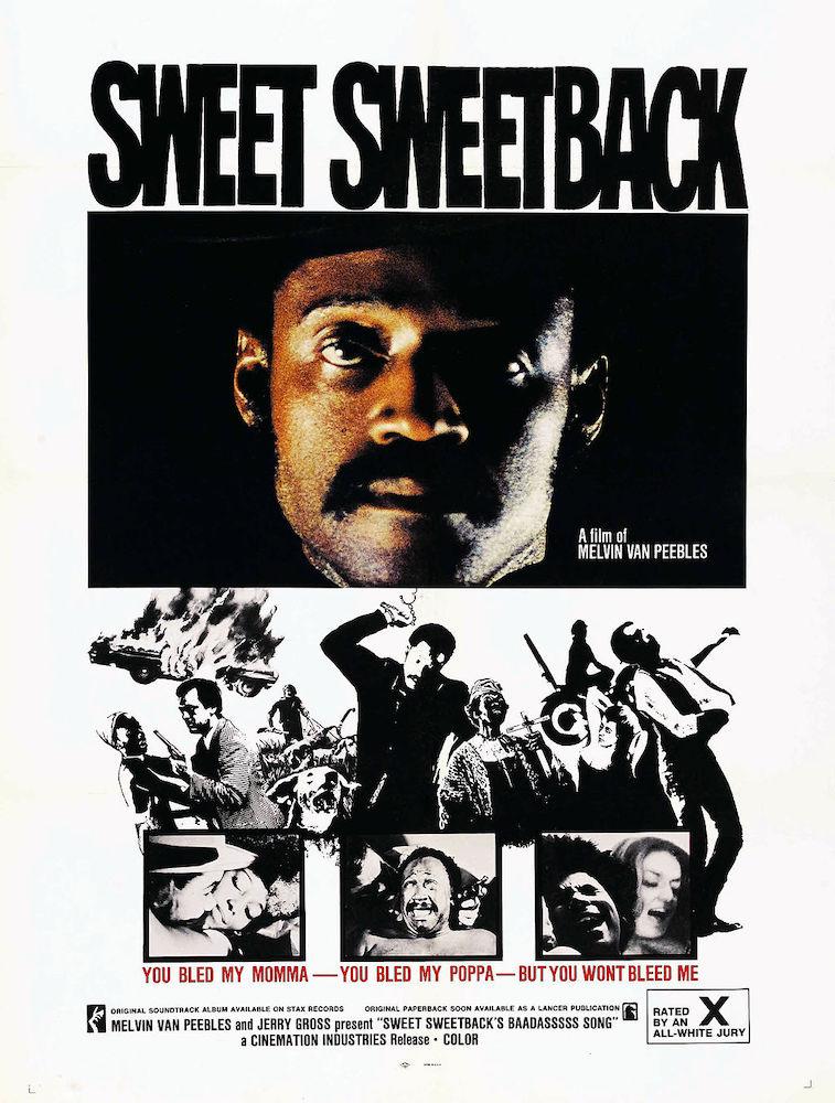 Sweet Sweetback's Baadasssss Song movie poster
