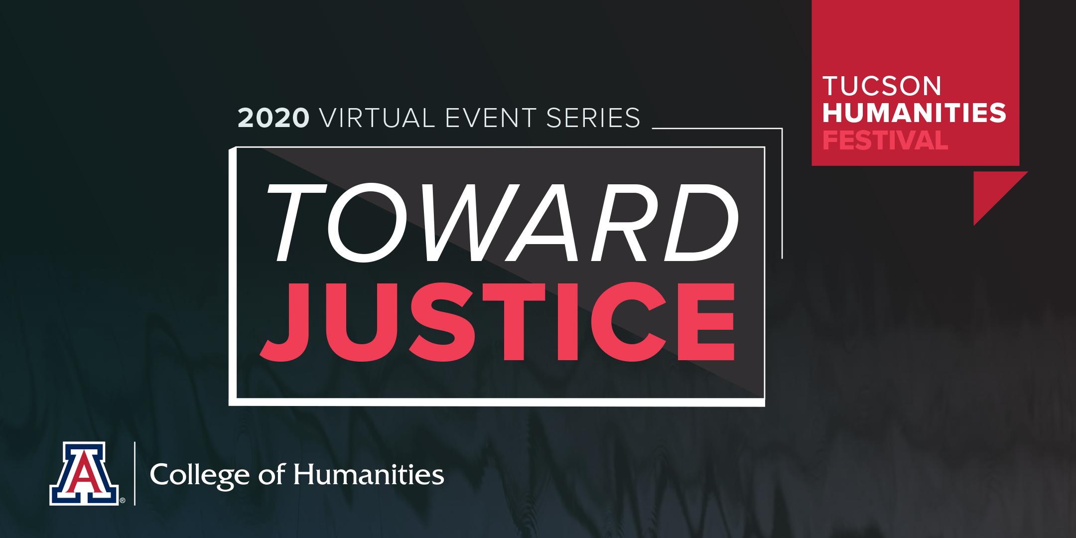 Tucson Humanities Festival Toward Justice logo