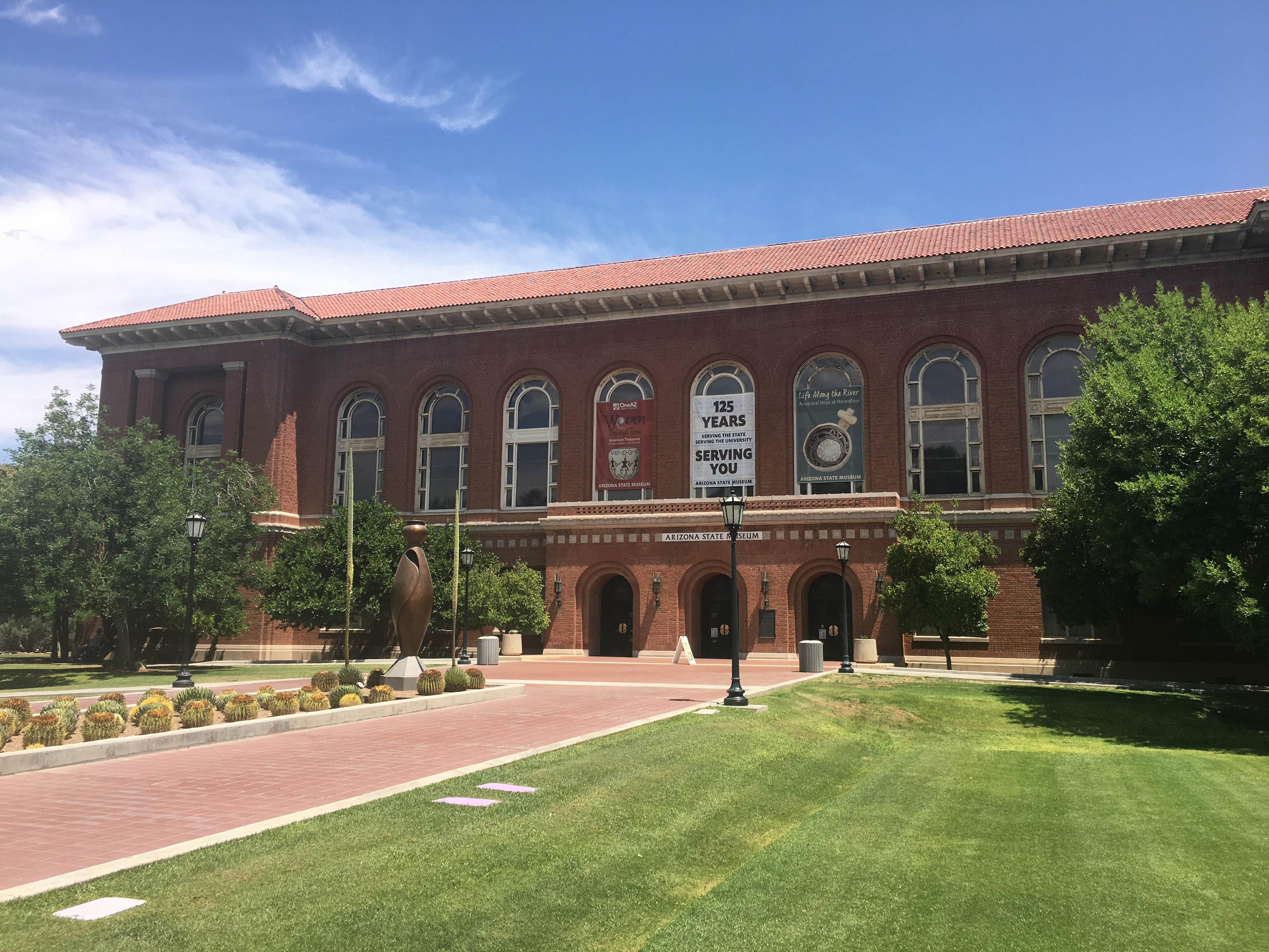 The Arizona State Museum is the oldest and largest anthropology museum in the Southwest.