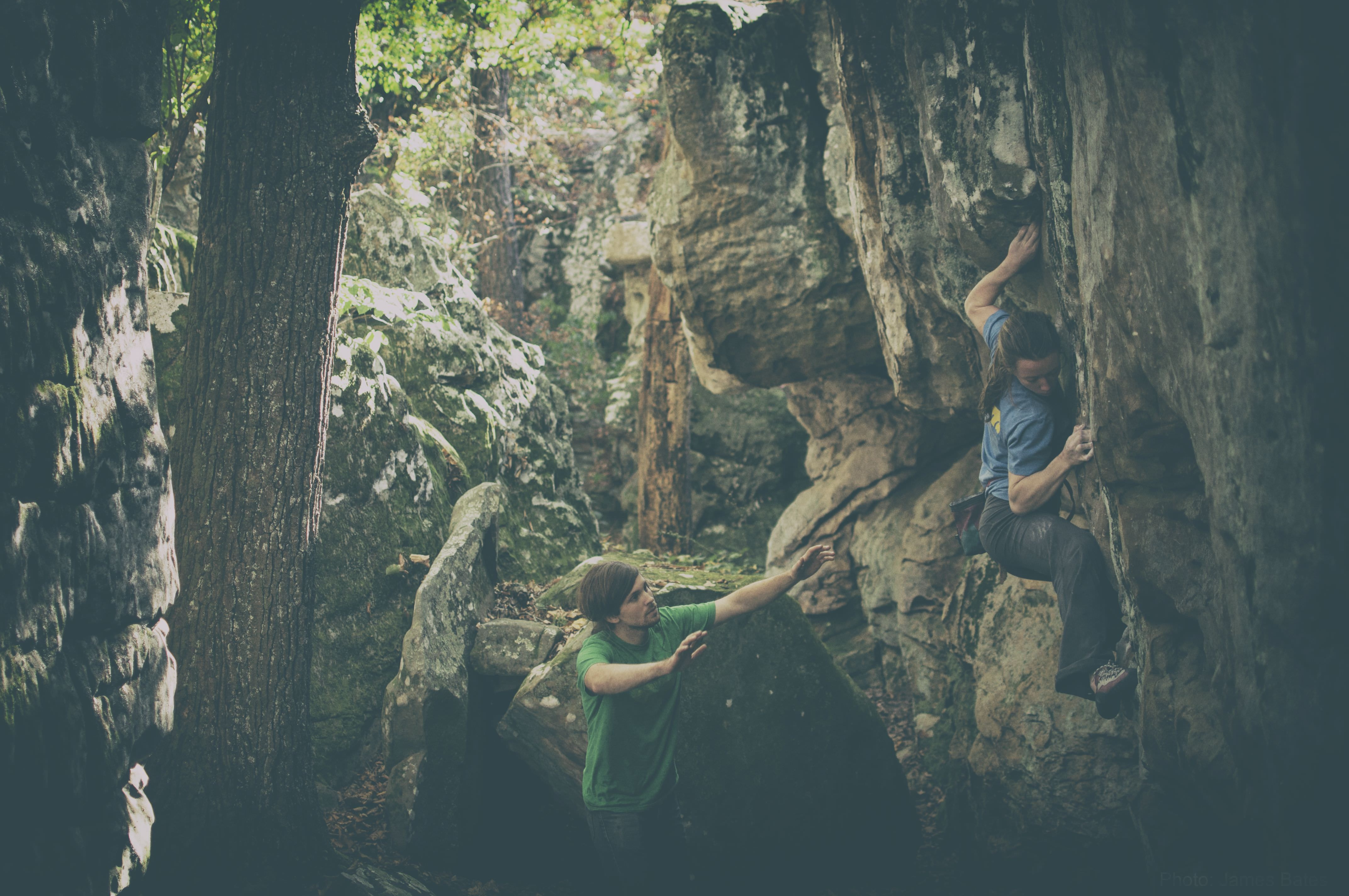 UA researcher Eva-Maria Stelzer was involved in a study finding that bouldering can help people avoid a mental avalanche in life. The study provides evidence that a bouldering psychotherapy can be effective for reducing symptoms of depression and that the