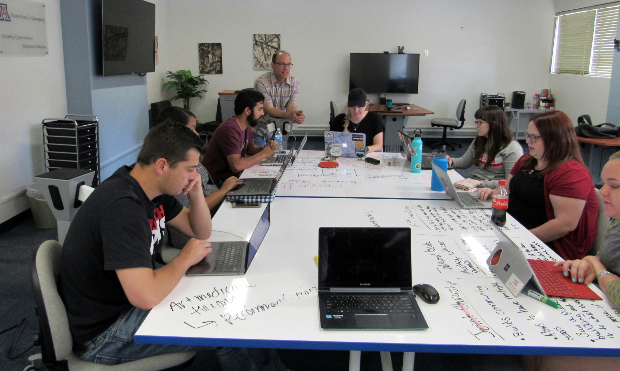 Students in Matthew Mars' Program Planning and Evaluation course work with a different community partner each semester on a formal formal evaluation project.