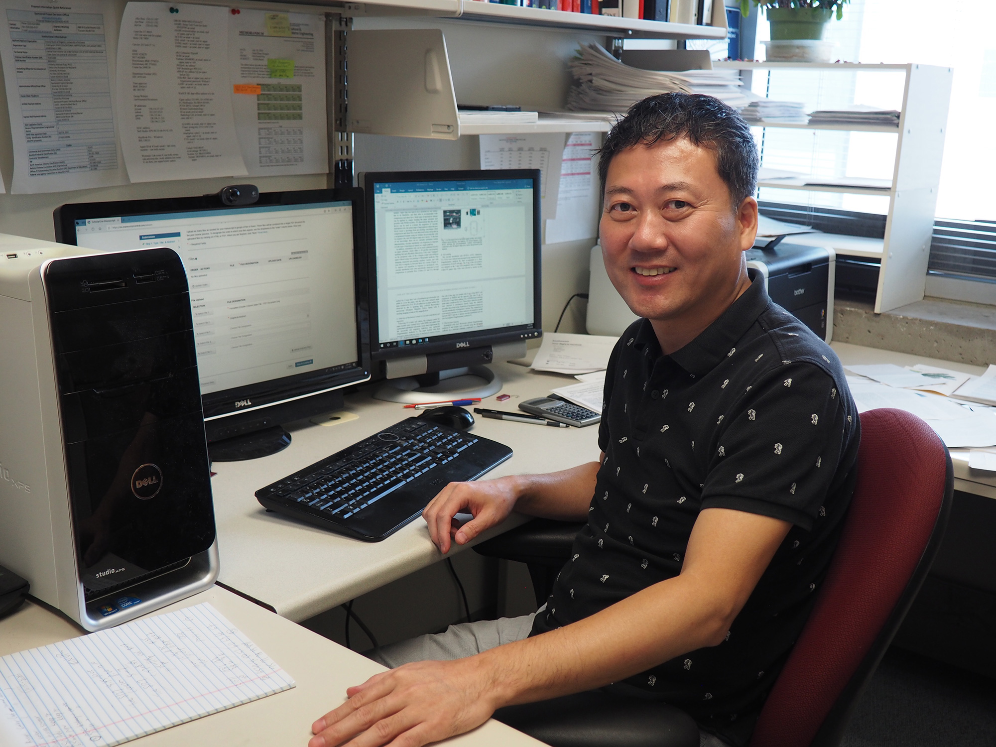 A team of University of Arizona researchers led by Jeong-Yeol Yoon has created a simple, portable and inexpensive method for detecting extremely low levels of norovirus.