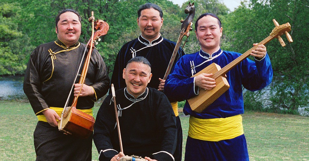 Tuvan throat singing originated in central Asia and has been practiced for generations.