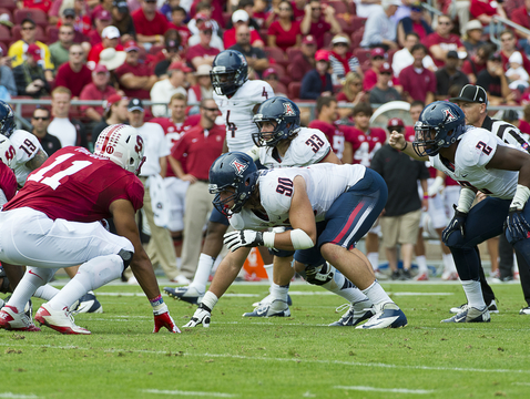 Arizona's last game was against Stanford. (Photo courtesy of Arizona Athletics)