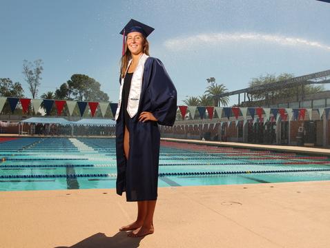 Margo Geer (Photo courtesy of Arizona Athletics)