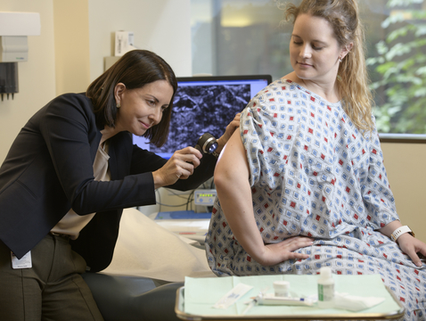 Researchers are working to find ways to prevent squamous cell carcinoma, the second most-common form of non-melanoma skin cancer.