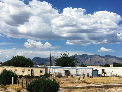 "A seed grant will fund ""A New Habitat for Manufactured Housing in Tucson,"" which hopes to create a foundation to transform Tucson's most socially and environmentally vulnerable manufactured housing communities into healthy, sustainable and just places to live.  (Photo: Mark Kear)"