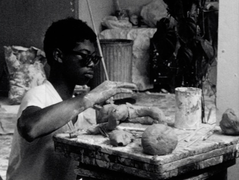 """Jere Michael's film, """"Off the Street,"""" follows aspiring young artists at a summer art camp in 1968. (Image courtesy of Hanson Film Institute)"""
