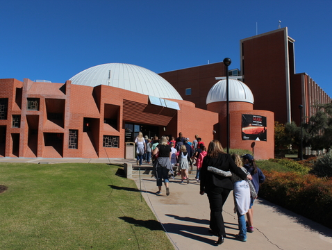 """The UA's Flandrau Science Center & Planetarium is home to two popular holiday shows, """"Season of Light"""" and """"Laser Holidays."""" (Photo courtesy of Shipherd Reed)"""