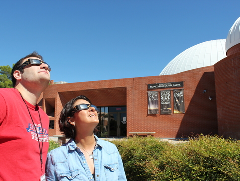 It will be important to enjoy Monday's solar eclipse safely. That means to never look at the sun without approved solar viewing glasses.