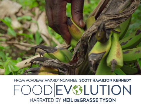 """""""Food Evolution"""" offers """"a fresh, provocative perspective on the critical issue of food."""""""