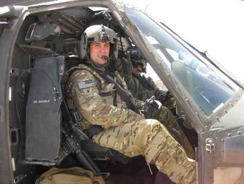 """""""My time as an Army medic was my first experience in the medical field and the foundation for my desire to become a physician,"""" said Tillman Scholar Neil Vigil, a student at the UA College of Medicine — Phoenix. (Courtesy of Neil Vigil)"""