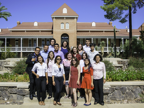 The Latin American Summer Research Program was launched at the UA to support undergraduate students who are juniors or seniors at their home universities and are interested in graduate studies in the U.S. (Photo courtesy of Frank Camp/UA Office of Global Initiatives)