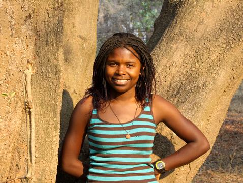 Thandiwe Mweetwa (Photo: National Geographic Society)