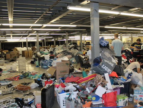 If one person's trash is another's treasure, then bargain hunters stand to strike gold at Saturday's second annual Wildcat Welcome Rummage Sale.