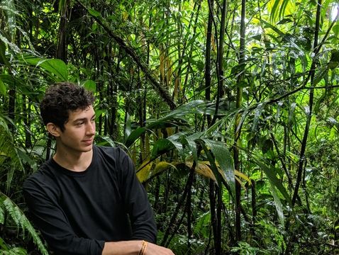 Taite Nazifi explores the natural beauty of Costa Rica while conducting research for the Justice 360 web application.