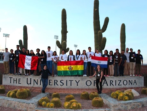 "Students from Paraguay, Bolivia and Peru were part of the the Study of the U.S. Institute (SUSI) program at the UA. ""One of the most rewarding things for us is each one of these countries now has a network of SUSI alumni who are making changes,"" Marcela Vásquez-León says."