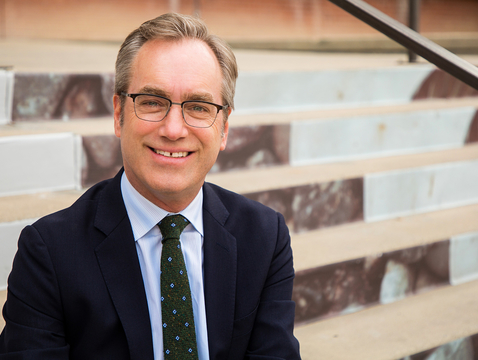 UA College of Fine Arts Dean Andrew Schulz was recently named vice president for the arts.