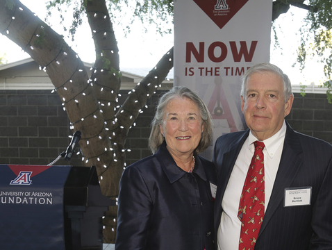 Patricia and Bruce Bartlett's $10 million gift will establish the Bartlett Labs, the goal of which is to unite the international research community in advancing understanding of issues that impact learning and attention challenges for undergraduate students, and to ensure Arizona students benefit from the resulting research.