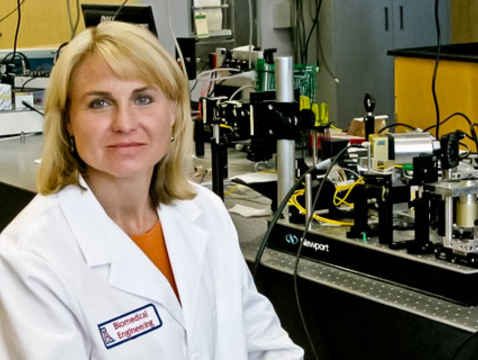 """Jennifer Barton: """"Effective screening for early detection (of ovarian cancer) is a compelling problem and a fantastic technical challenge because there's no perfect solution today."""""""