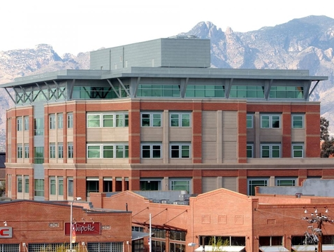 The Marshall Building, home of the UA School of Journalism
