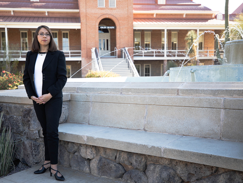 Elise Lopez is the inaugural director of the UA Consortium on Gender-Based Violence. (Photo: Nividita Chatani/UA College of Social and Behavioral Sciences)