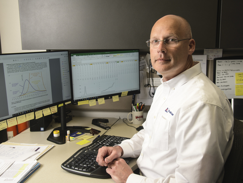 Joe Gerald (Photo: Kris Hanning/University of Arizona Health Sciences)
