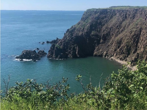 """Kim Bussing's post on Grand Manan Island focused on the role of women in its past and current culture, writing, """"This is an island built by women."""" (Photo: Kim Bussing)"""