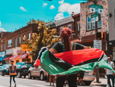 A Juneteenth parade in Philadelphia last year. UArizona historian Tyina Steptoe says the holiday celebrating the emancipation of Confederate slaves will likely be recognized by increasingly diverse groups this year and into the future.