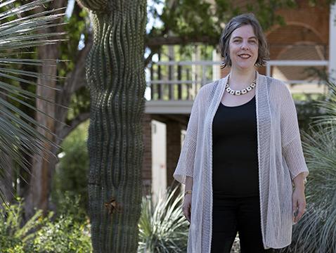 Elizabeth Baldwin is principal investigator of an NSF grant to predict effective governance strategies for managing invasive species. (Photo: Anna Augustowska)