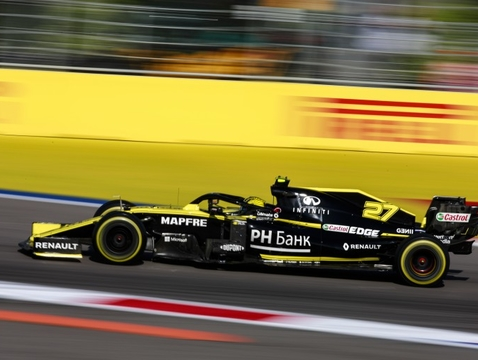 University of Arizona engineering student Andre Schreiber will spend six months alongside the Renault F1 Team at the French automotive company's technical center in Enstone, England. (Photo courtesy of the Federation Internationale de l'Automobile)
