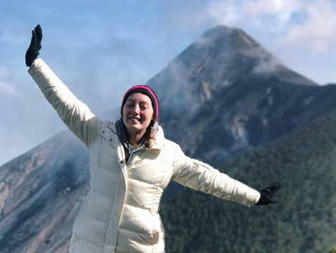 """I have always known that I wanted to pursue an international career in grassroots service, community development and peace building,"" said Ruth Byrnes, who will serve as a Peace Corps Volunteer following her graduation from the UA in May."