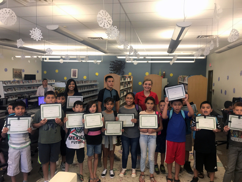 The first class of Saludable graduates learned about nutrition, yoga and mindfulness-based stress reduction techniques.