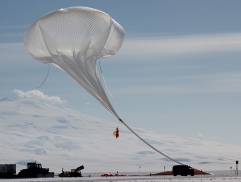 Christopher Walker's team successfully launched the Stratospheric Terahertz Observatory, which served as a pathfinder mission for GUSTO, in December 2016. Carried by stable, circumpolar winds, the airborne observatory completed a three-week flight and collected data from a  portion of the Milky Way.  (Photo: Brian Duffy and Christopher Walker)