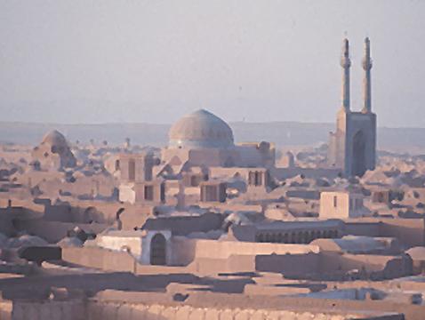 The Traditional City of Yazd, Iran. (Photo: Michael E. Bonine)