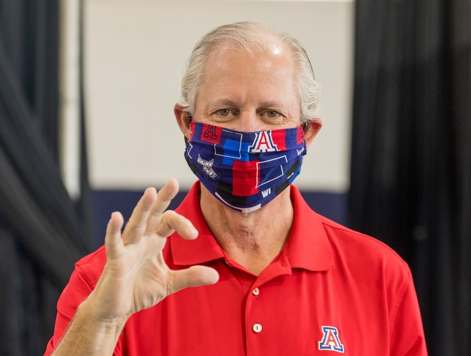 UArizona President Robert C. Robbins says the university will hold in-person classes in the fall. (Photo: Chris Richards/University of Arizona)