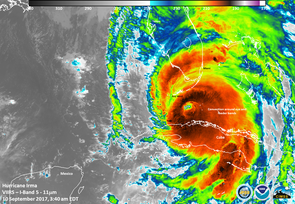 Hurricane Irma was one of six major hurricanes during 2017, which is considered one of the most catastrophic Atlantic hurricane seasons on record. (Photo: NOAA)