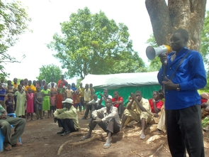 UA alumnus John Akuar and members of the Arizona Resource Connection have been raising funds to build water wells and a school in his native Abul. Estimates indicate that it would cost $100,000 to build a school, largely because of high gas prices hefty transportation cost, given the lacking infrastructure in Abul. (Photo courtesy of John Akuar)