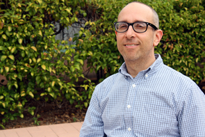 Peter Botticelli, an assistant professor of practice at the UA's School of Information Resources and Library Science, teaches courses on digital curation, scholarly communication and digital preservation, and has published research in history and archival studies. (Photo credit: Beatriz Verdugo/UANews)