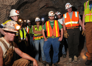 More and more women are joining the mining industry - and finding much opportunity (Photo by Norma Jean Gargasz/UANews)