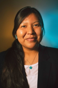 Stacy Howard of the Many Goat clan and born for the Deer Spring clan, was raised on the Navajo Reservation by a single mother who valued her Navajo teachings. (Photo credit: Jack Alexander Jr.)