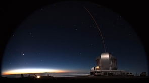 Observations made with the International Gemini Observatory at Maunakea helped determine the mass of the supermassive black hole powering the distant quasar. Pōniuā'ena was named to honor its discovery from Maunakea in Hawaii. It is the first quasar to receive an Indigenous name. (Image: International Gemini Observatory)