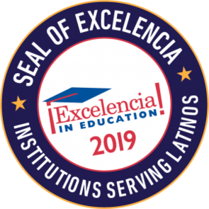 The seal was awarded by Excelencia in Education, a national organization focused on accelerating Latino student success.