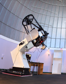 The 24-inch Mount Lemmon SkyCenter telescope is the one the public uses in programs offered through the UA's College of Science and Steward Observatory. SkyCenter astronomer Adam Block used it to take the Aug. 19 Astronomy Picture of the Day.