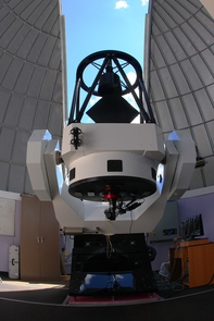 The new 32-inch public viewing telescope at the Mt. Lemmon SkyCenter.