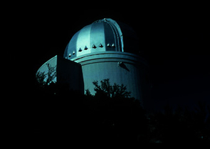 The 36-inch Spacewatch telescope on Kitt Peak