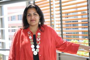 Anita D. Bhappu (Photo credit: Beatriz Verdugo/UANews)