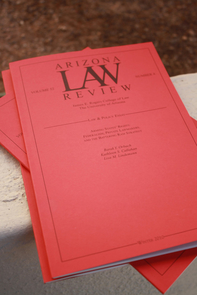 Arizona Law Review (Photo credit: Beatriz Verdugo/UANews)